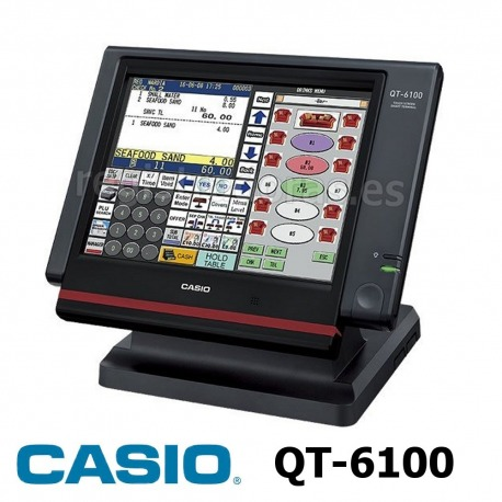 Registradora Tactil Casio QT-6100