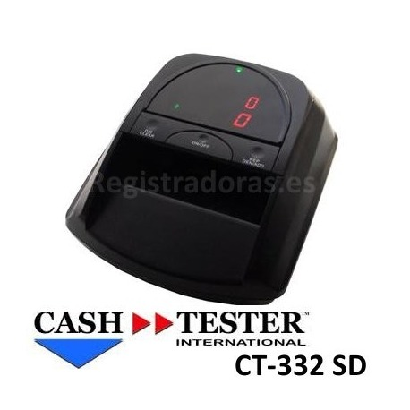 Detector de billetes CASH TESTER CT-332 SD