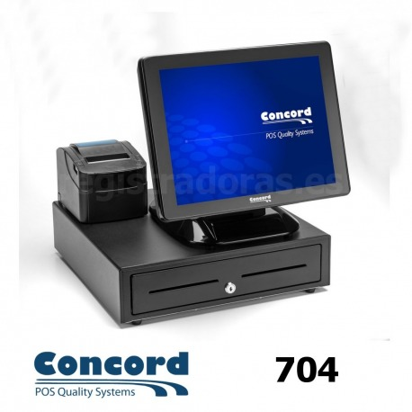 PACK TPV CONCORD 704 + Impresora GP-U80300II + Cajón