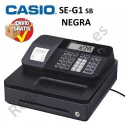 Caja Registradora CASIO SE-G1 (Cajón Pequeño) NEGRO