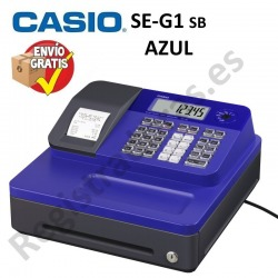 Caja Registradora CASIO SE-G1 (Cajon Pequeño)-AZUL