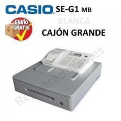 Caja Registradora CASIO SE-G1 (Cajón Grande) BLANCO