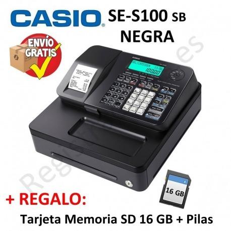 Registradora CASIO SE-S100 SB (Cajón Pequeño)