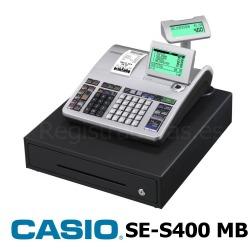 Registradora CASIO SE-S400 MB (Cajón Grande)