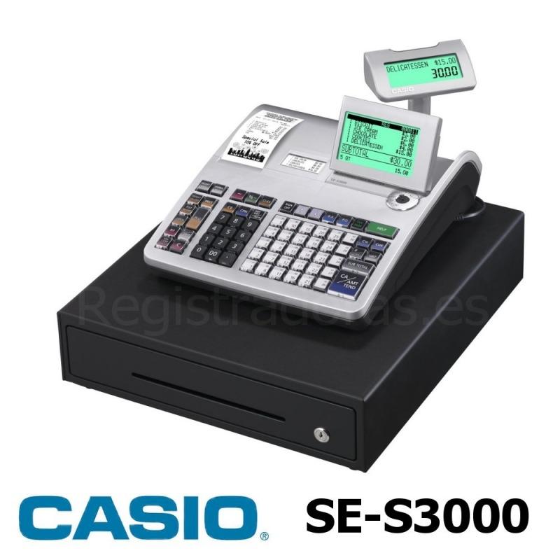 22beda39a600 Registradora CASIO SE-S3000