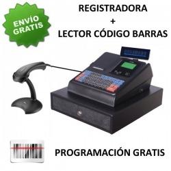 Pack Caja Registradora Towa LF-100 + Lector Código Barras AS8000 PS2