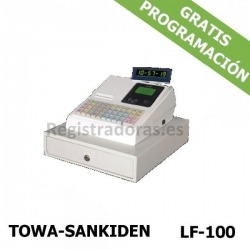 Caja registradora LF-100 TOWA-SANKIDEN (Blanca) (Cajon Metalico)