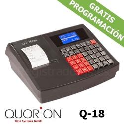 Caja registradora QUORION Q-18 (QMP 18) + Cajón Metálico 41x41