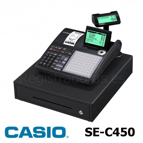 Registradora CASIO SE-C450