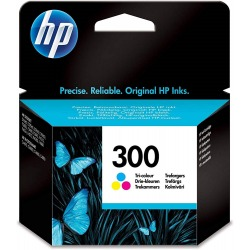 Cartucho Tinta HP Nº 300 Color-ORIGINAL-