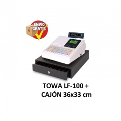Caja registradora LF-100 TOWA-SANKIDEN (Cajon 36x33)